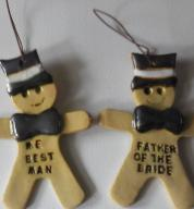 The Wedding Party  Gingerbread Men