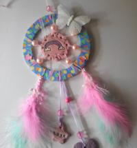 Butterfly & Rainbow Dream Catcher