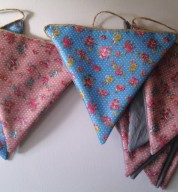 Garden Chic Ditsy Floral Outdoor Bunting