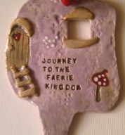 Ceramic Journey To The Faerie Kingdom Door