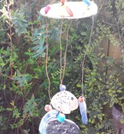 Tree Ceramic Hanging Garden Chime Mobile