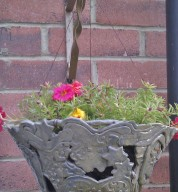 Ceramic Garden Hanging Basket Plant Pot