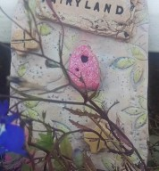 Faery / Fairy Land Personalised Door