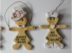 The Wedding Party Gingerbread Girls