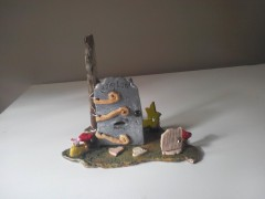 Ceramic Fairy Land with Furniture