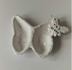 Personalised Keepsake Butterly Dish